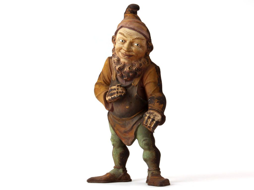 Vintage Gnomes Antique Cast Iron Gnome Image 2 With Images