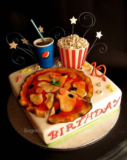 Groovy I Love Pizza With Images Crazy Cakes Yummy Cakes Cake Funny Birthday Cards Online Barepcheapnameinfo