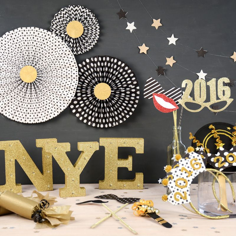 Cute new year\u0027s eve decoration ideas , NYE party ideas , how