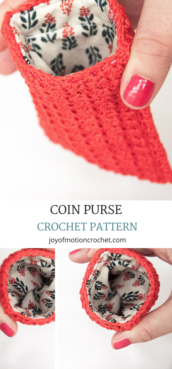 Credit Card And Coin Purse Easy Crochet Pattern Design Crochet 1