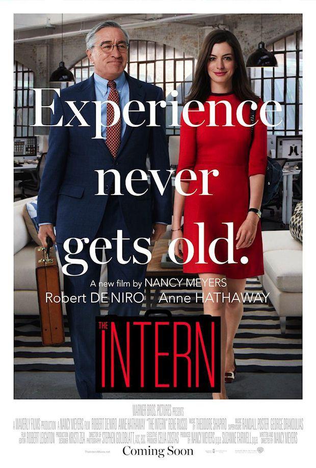THE INTERN movie poster Movies to watch, 2015 movies