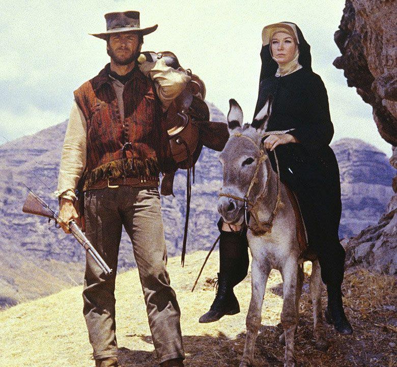 Sala66 Clint Eastwood Y Shirley Maclaine En Dos Mulas Y Películas Del Oeste Vaqueros Del Viejo Oeste Mulas