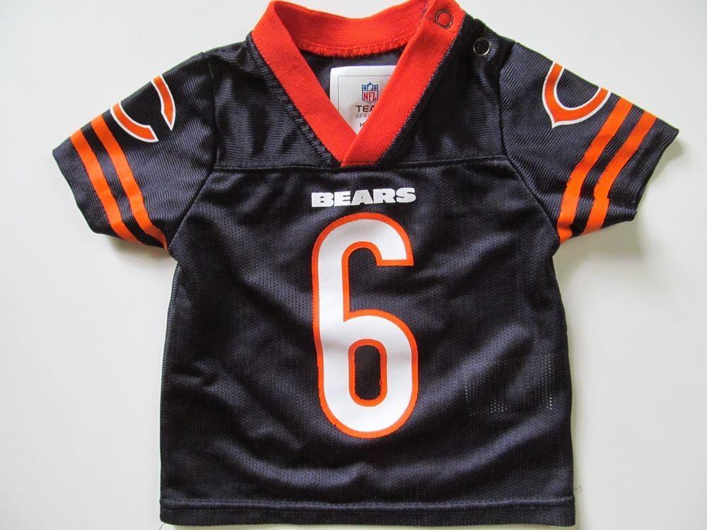 f39fdb62bb5 ... Jersey Cutler 6 Football Unisex Baby NB 03 Months NFL Chicago Bears 6  Jay Cutler Team Apparel ...