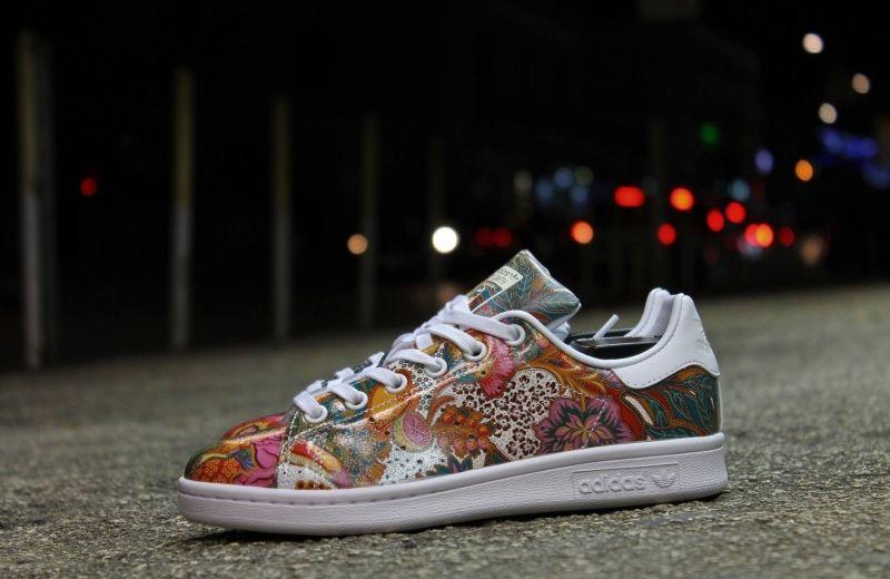 Farm Company x Adidas Stan Smith W Flowers Multicolor 'Bali