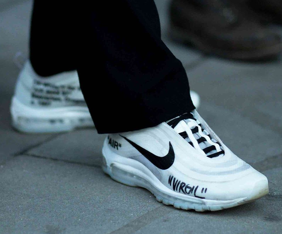 Off White X Nike Air Max 97 Sneakers Men Fashion Hype Shoes Sneakers Fashion