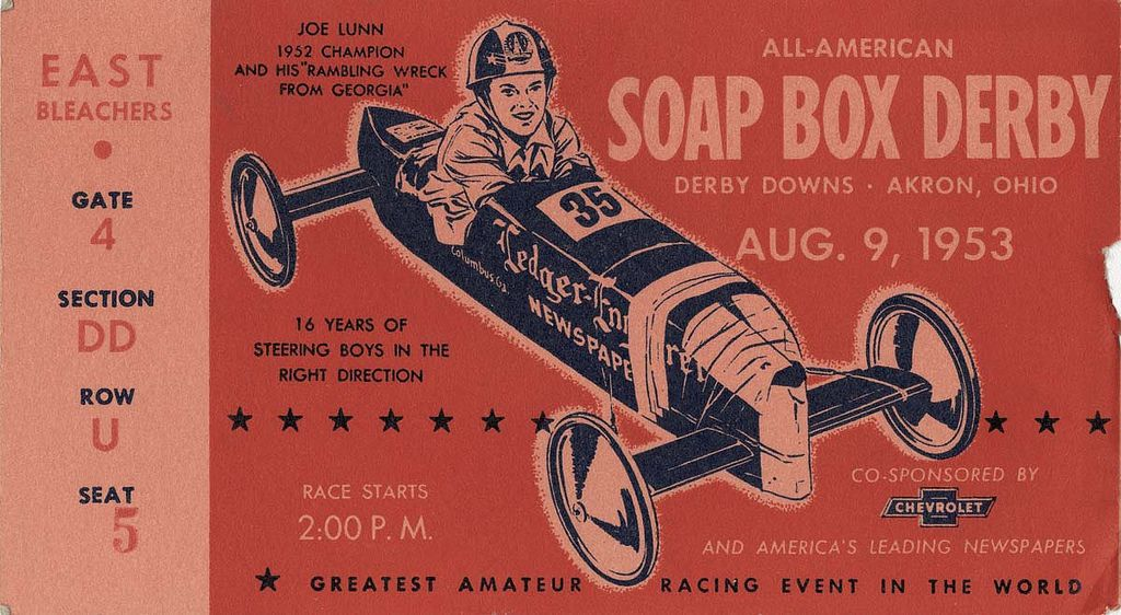 Akron soap box derby soap boxes derby prints for sale