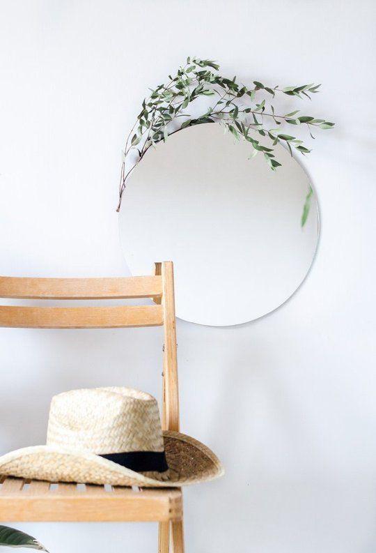 5 Ways To Dress Up A Frameless Mirror Frameless Mirror Decor