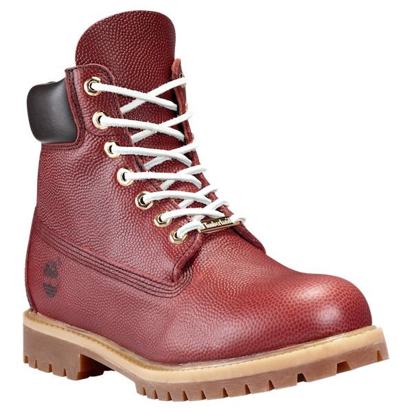 Horror Día Mula  Brown Horween Football Leather   Zapatos hombre, Timberland mens boots,  Botas timberland hombre