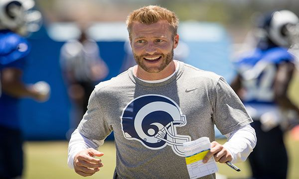 Don Lichterman Los Angeles Rams Weekly Training Camp Opens Les Snead Jared Goff Aaron Donald Caushaud Lyon Los Angeles Rams Coach Of The Year Los Angeles