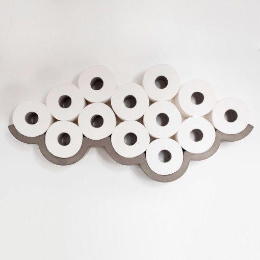 Bertrand Jayr Cloud Toilet Paper Shelf Design