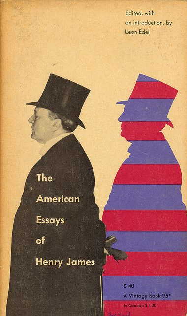The American Essay Of Henry Jame Cover By Paul Rand Book Design Essays