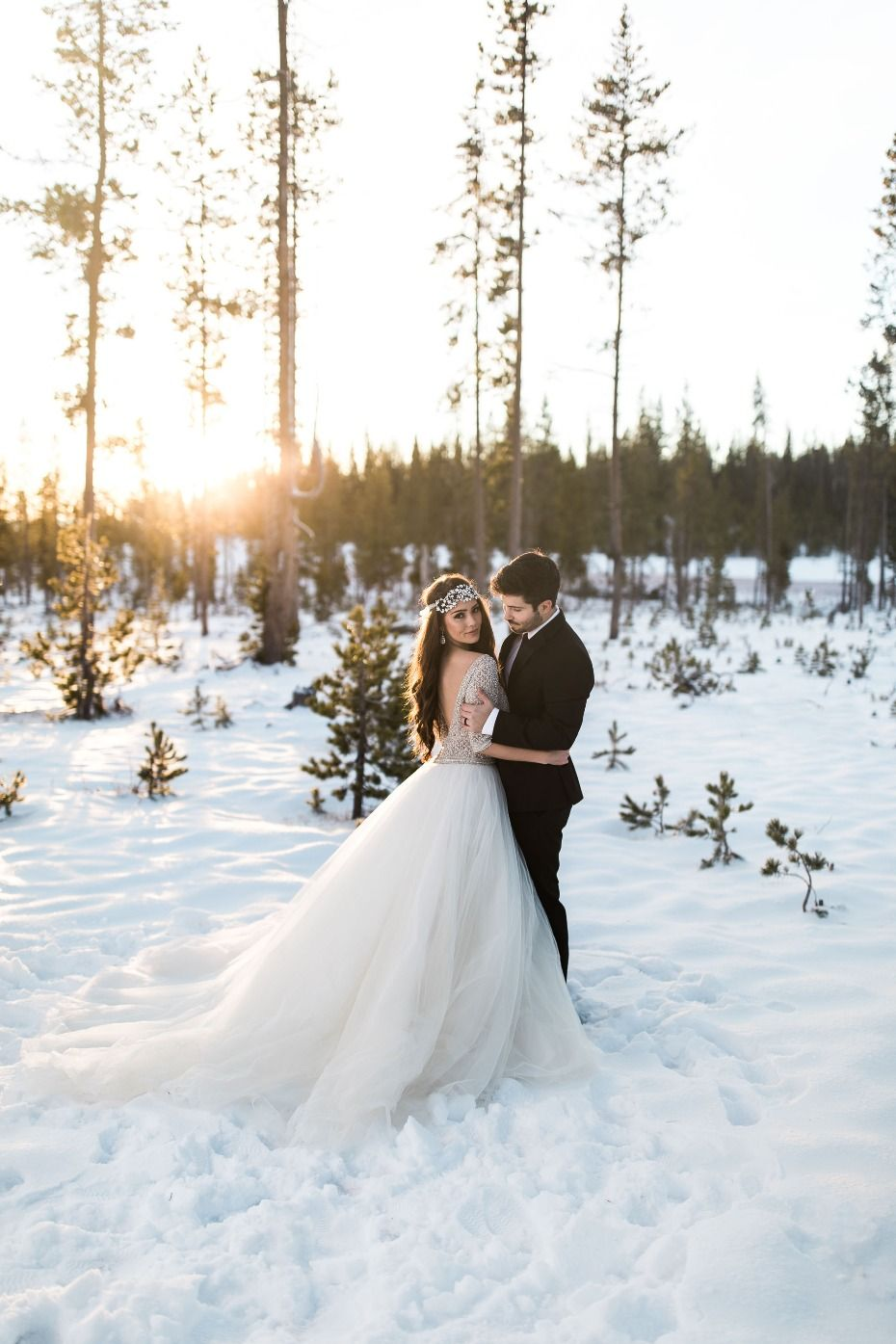 Allen By Sottero And Midgley Wedding Dresses Winter Wedding Photos Snow Wedding Winter Wedding