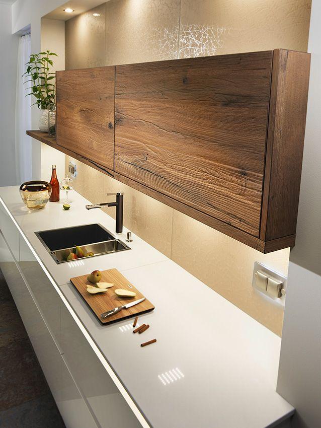 Breitschopf Macht Ihre Küche | → Barrique Alteiche | Ausstellungsküche  Designerküche Designerküchen Einbauküche Holzküche Küche Küchen