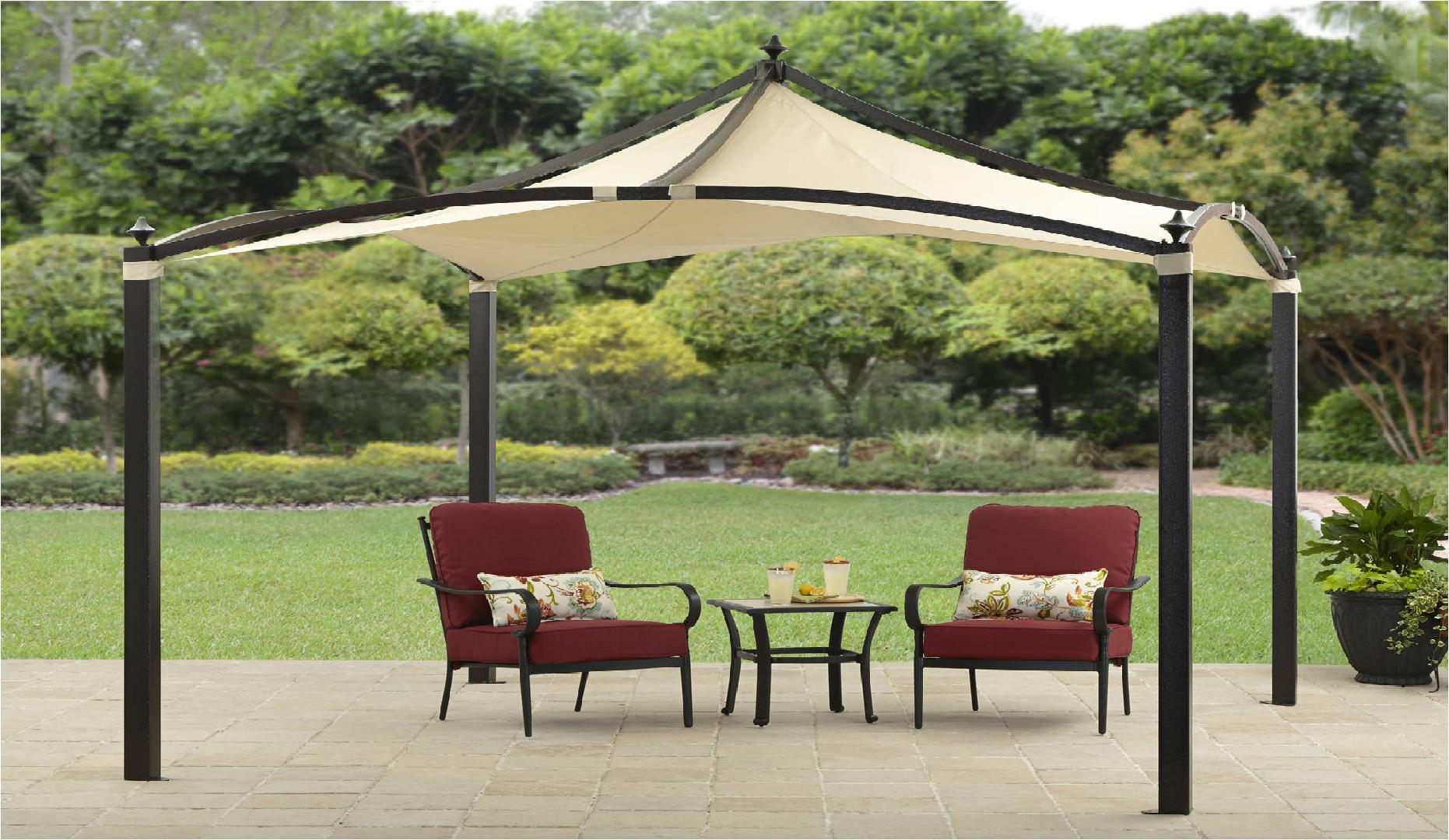 the better home garden convair pavilion gazebo can provide very rh pinterest com