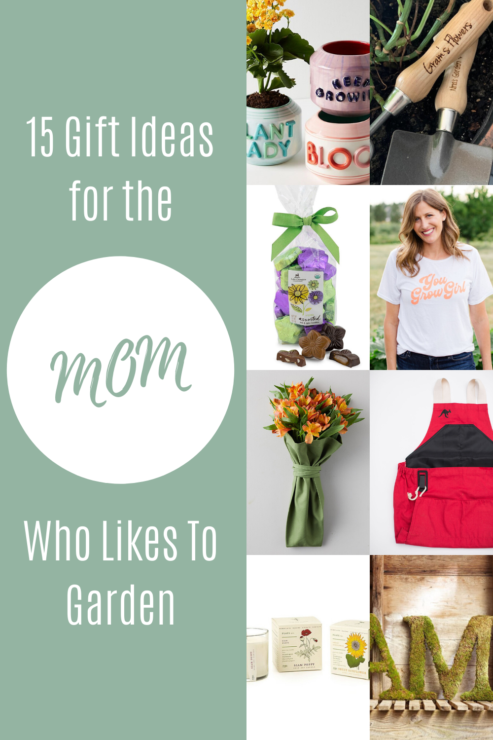 15 Gift Ideas For The Mom Who Likes To Garden Roo Apron In 2020 Garden Gifts Diy Mothers Day Gifts Mother S Day Diy