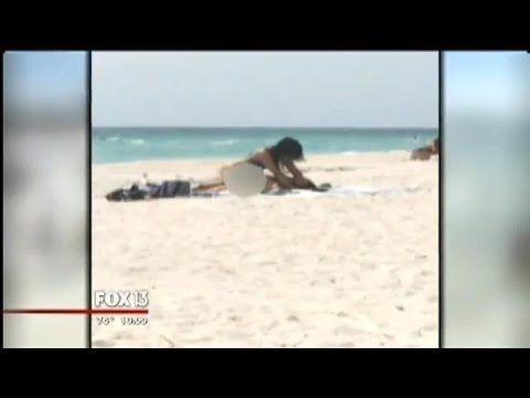 Caught having sex on beach video