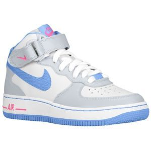 premium selection 6994d e5f8a Nike Air Force 1 Mid - Girls Grade School - Shoes