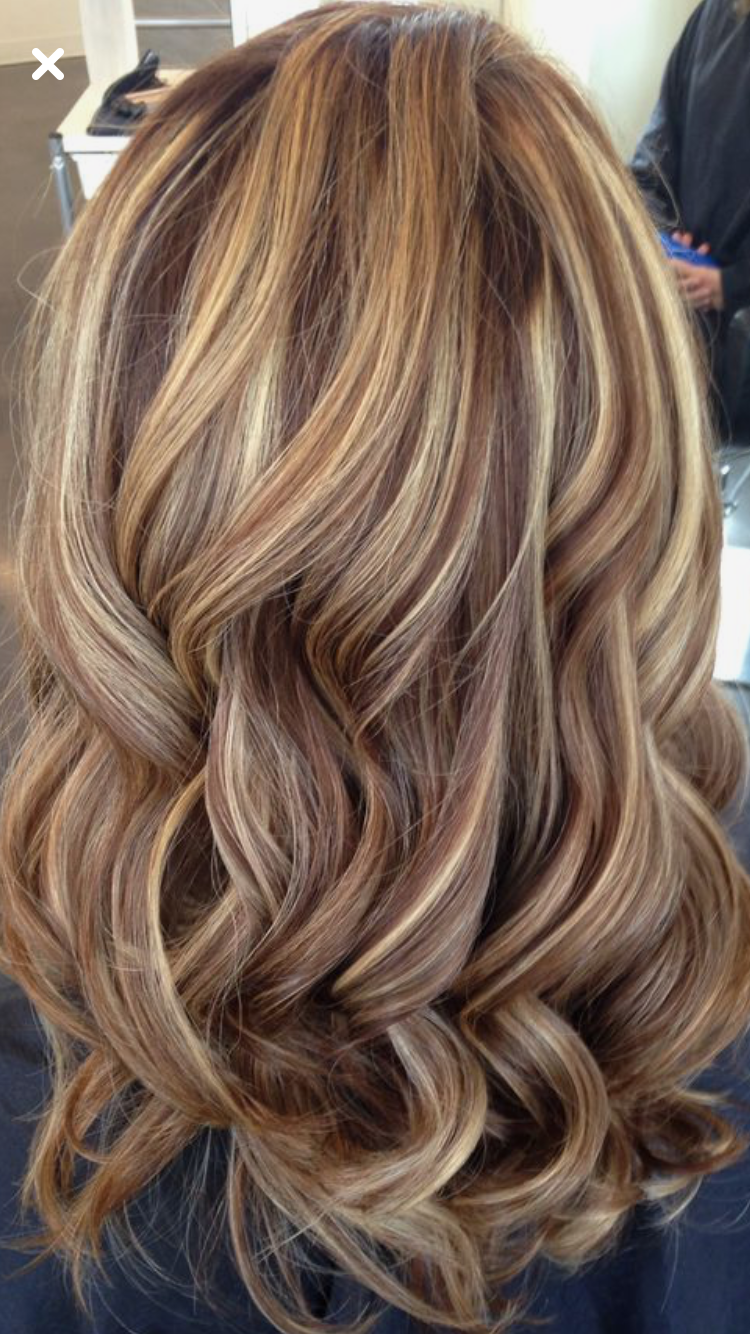 brown and blonde highlights tumblr wwwpixsharkcom