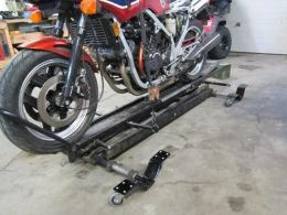 Motorcycle Lift Dolly Modification Homemade Motorcycle Motorcycle Bike Stand