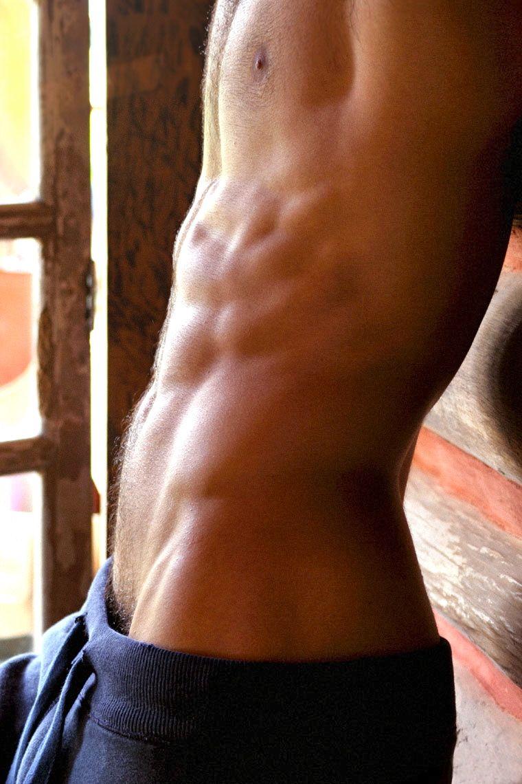 Flat abs men