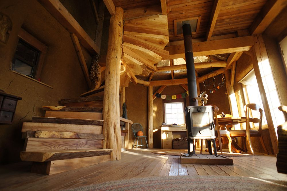 A DIY Wooden Spiral Staircase Design: How We Did It | The Year Of Mud
