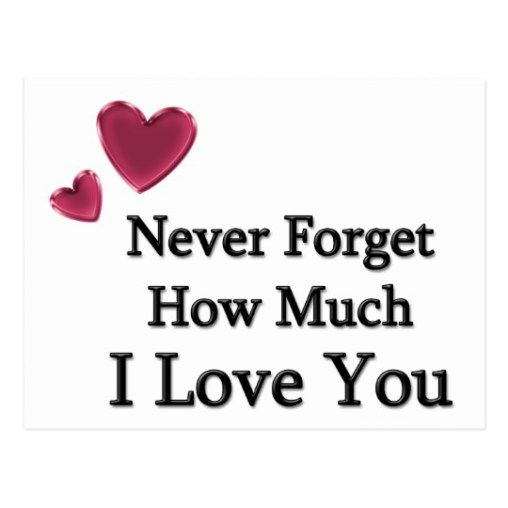 Best Love Quotes About Love Sayings Never Forget How Much I Love You