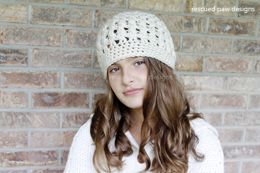 Crochet Beanie Pattern - Dreaming of Winter Beanie Pattern