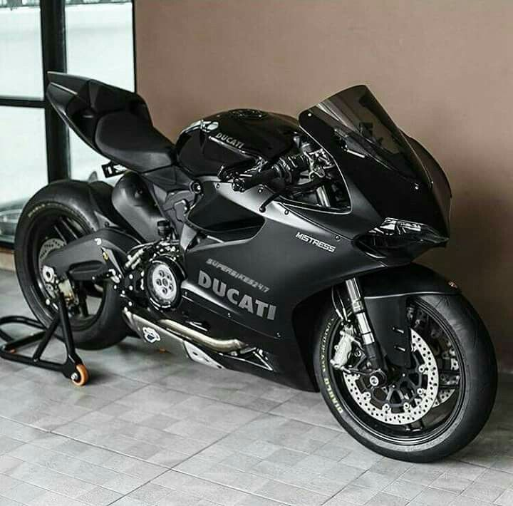 Black Is New Gold Ducati Panigale Sports Bikes Motorcycles