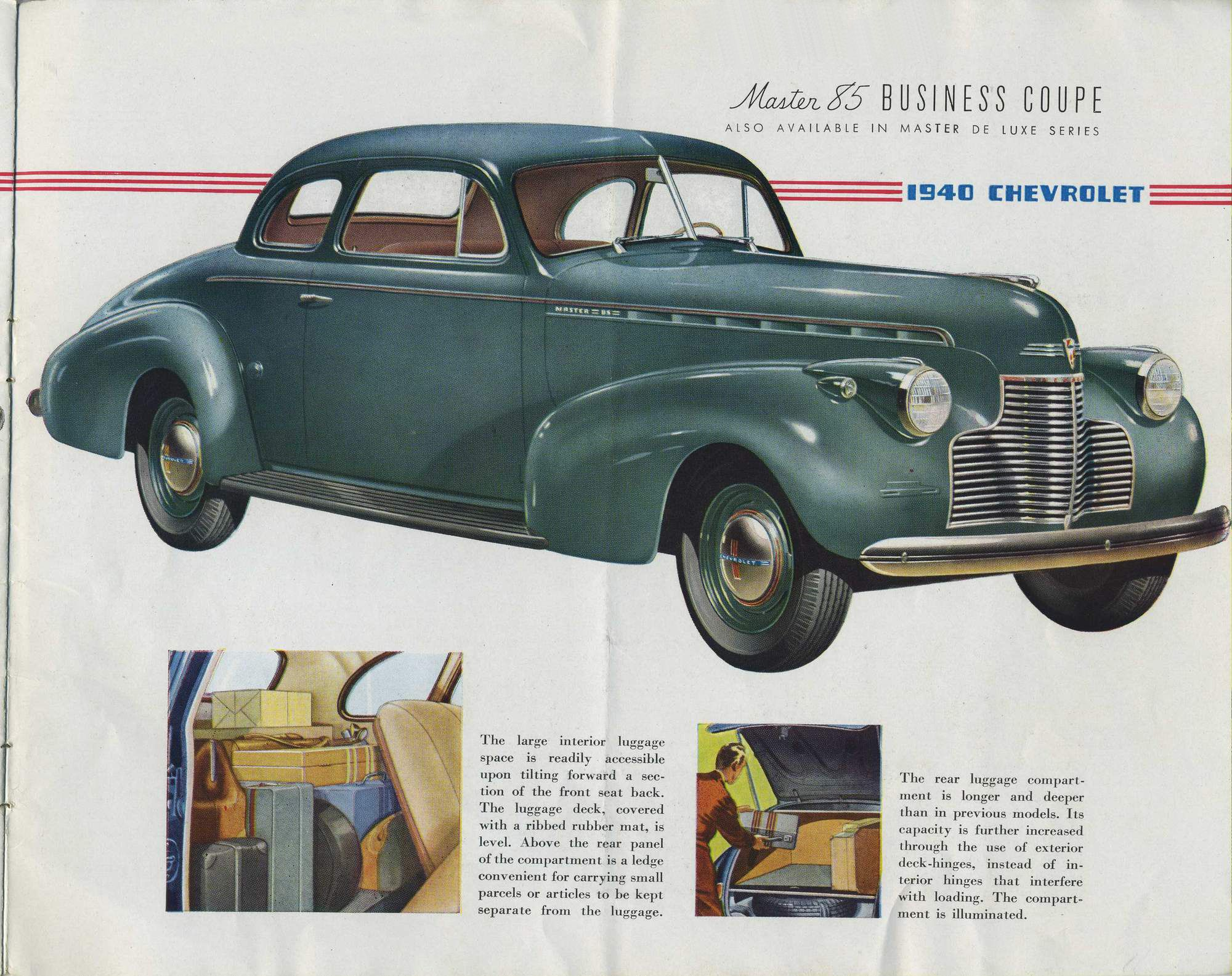 1940 chevrolet master 85 business coupe