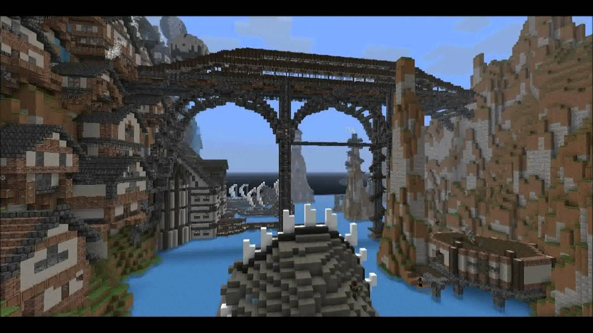 Minecraft Timelapse FR - Steampunk City | Minecraft ...