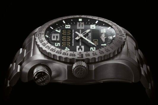 Breitling Emergency Night Mission Watch.