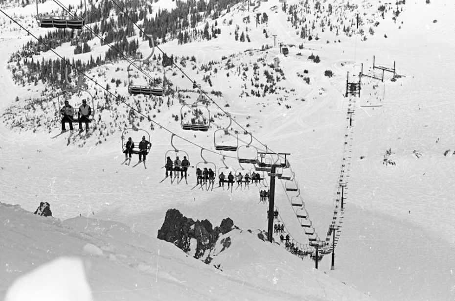 Great picture of chair 23 back in 1982. Photo from Dave McCoy archive by TJ
