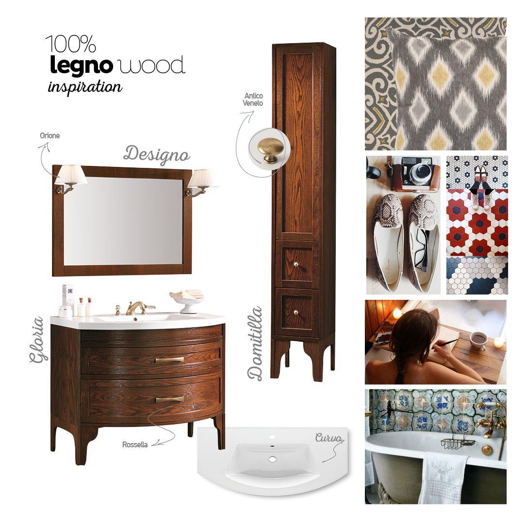 Ispirazione #legno con Gloria & Domitilla, per un #bagno da ...