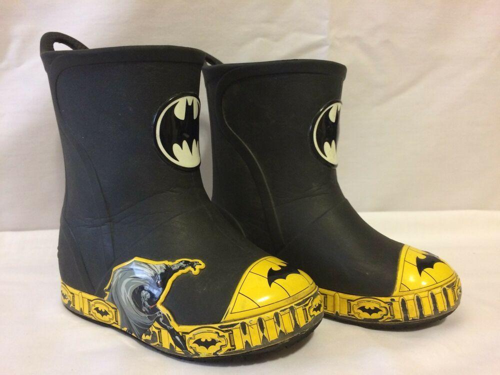 e95aed600 BOYS BATMAN CROC BRANDBOOTS boys SZ 8  fashion  clothing  shoes   accessories  kidsclothingshoesaccs  boysshoes (ebay link)