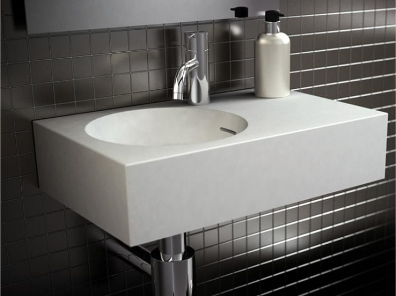 Delightful With Itu0027s Superior Quality The Omvivo Neo Mini Wall Basin Provides A  Perfect Powder Room Solution Photo Gallery