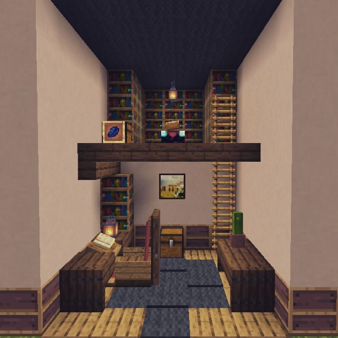 Minecraftbuildingideas In 2020 Minecraft Room Minecraft Houses Minecraft House Designs