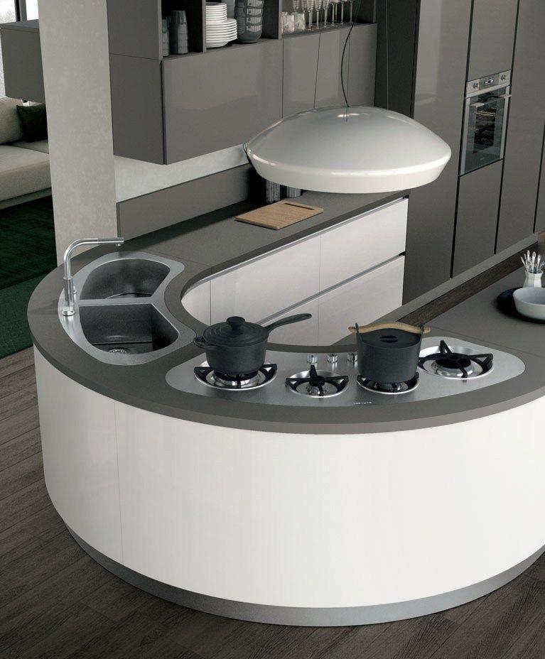 Clover 01 By Cucine Lube Kitchen Room Design Modern Kitchen Design Kitchen Furniture Design