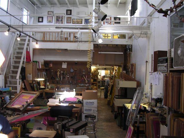 Image Artist 27s 20studio 20with 20loft 20area Jpg Industrial Studio Loft Apartments Artist Loft House Styles