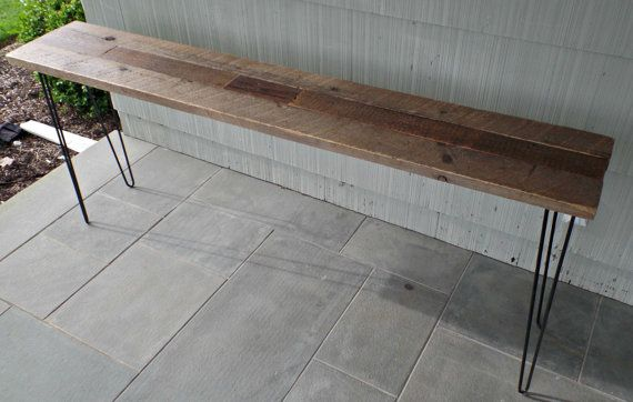 Console Table Console Table Reclaimed Wood Console Table Outdoor Decor