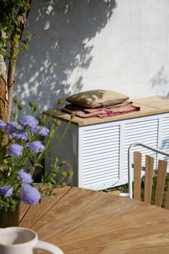 Aufbewahrung Balkon cinas bench and gardens