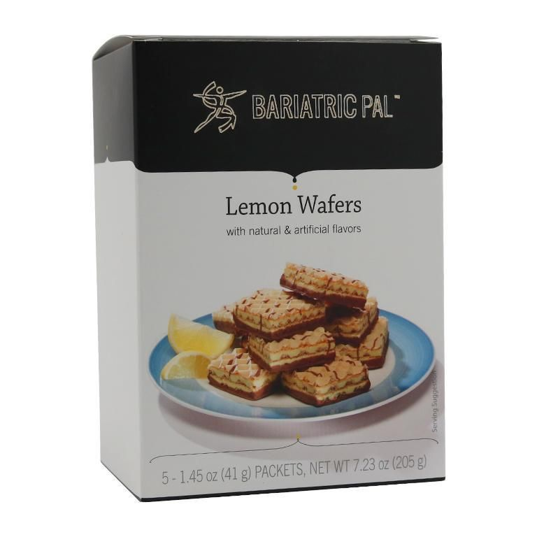 BariatricPal Square Protein Wafers - Lemon