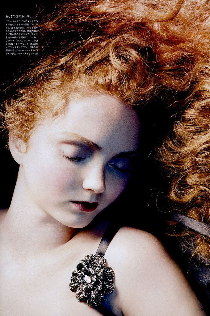 Lily Cole I Remember Having This Torn Out Of My Vogue Magazine And