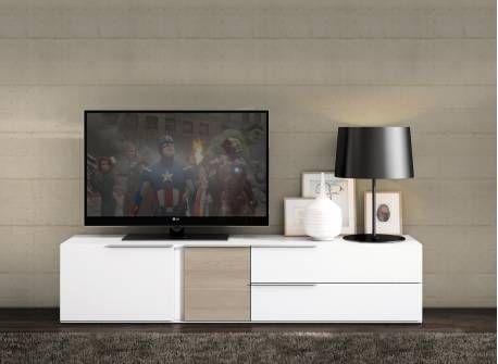 Mueble bajo de tv con un diseño elegante pon este módulo bajo en ...