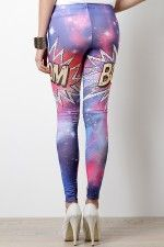 Galactic Boom Leggings