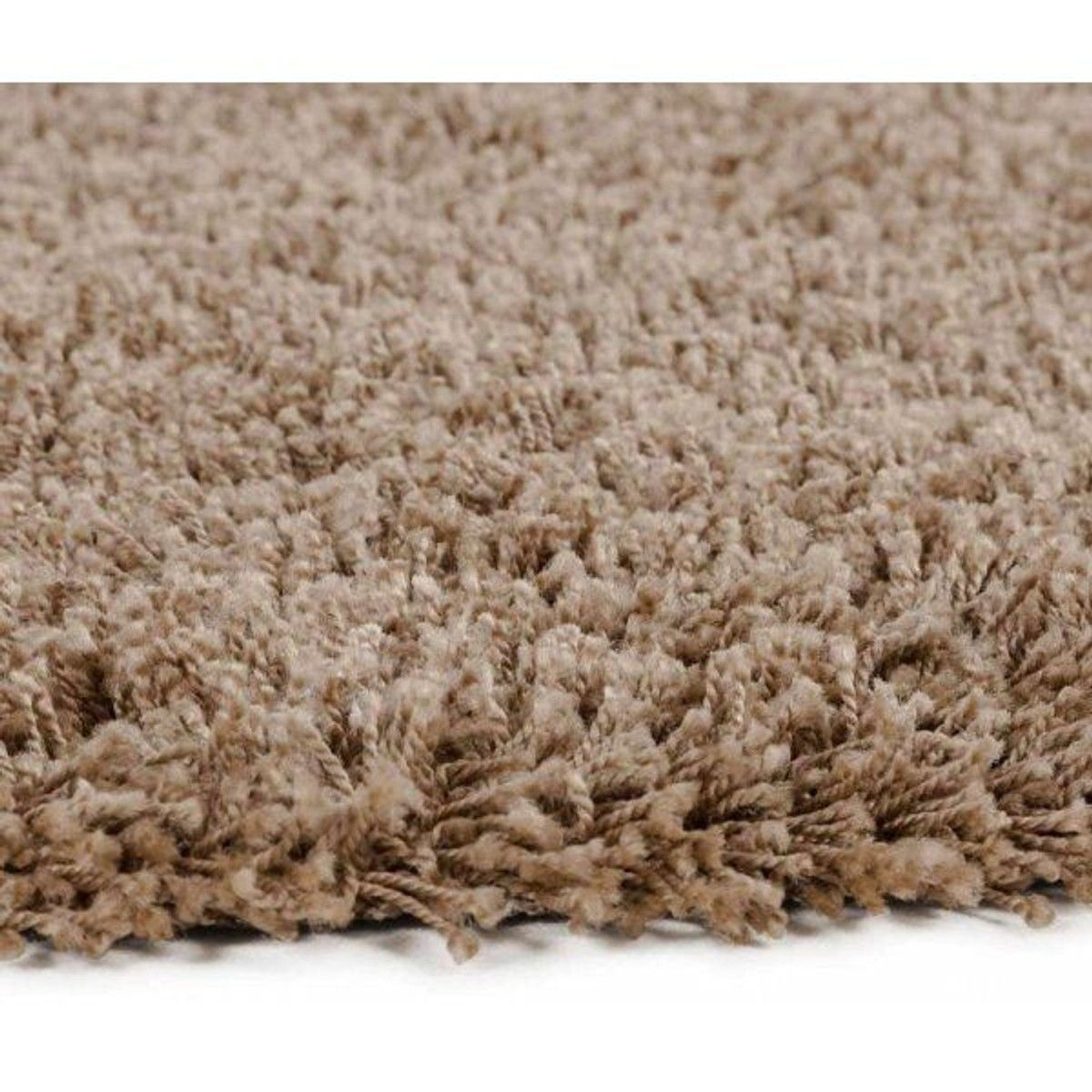 Tapis Shaggy Rond Grand Format Kokoon Design Taille