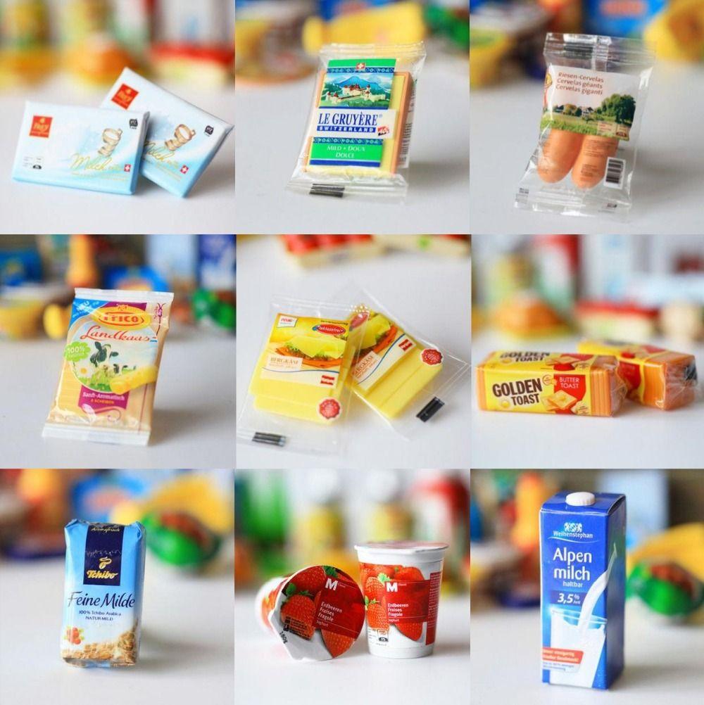 5Pcs 1//12 Miniature food mini fruit drink model for dollhouse kitchen toys TO