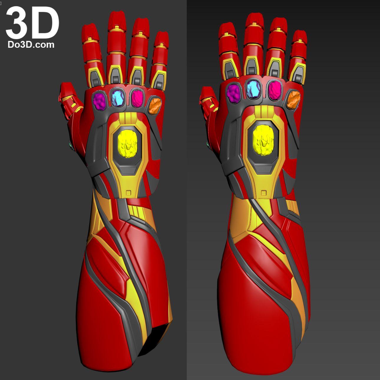 3d Printable Model Iron Man Mark Lxxxv Mk 85 Nano Gauntlet With Infinity Stones Avengers Endgame Print File Fo 3d Printable Models Iron Man Armor Iron Man