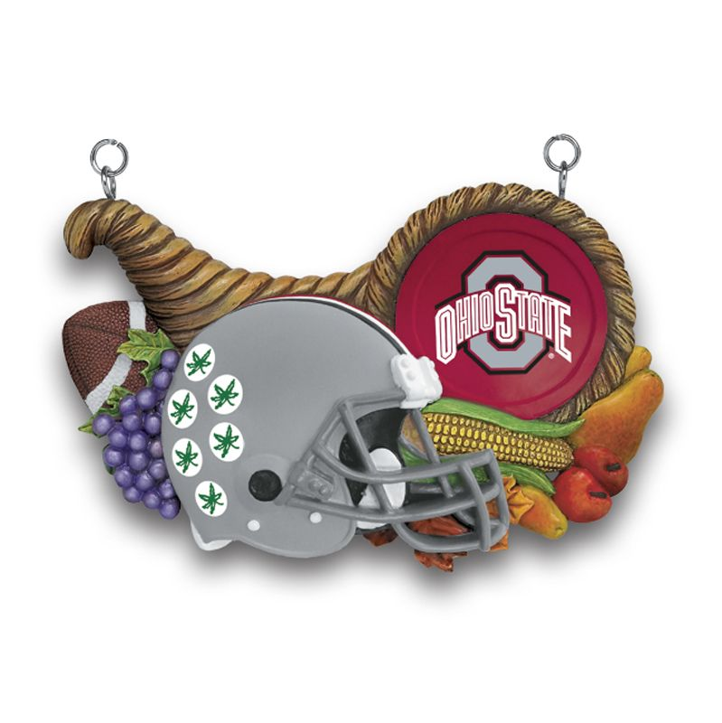 Ohio State Buckeyes Welcome Sign - Thanksgiving plaque
