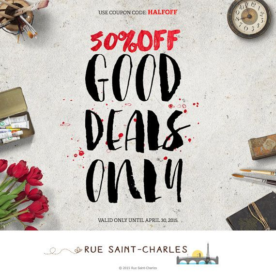 printable art 50% OFF minimalist art print by RueSaintCharles