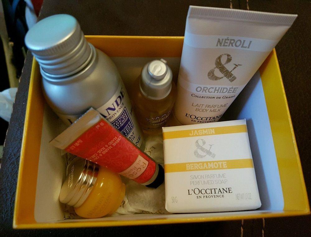 Luxury loccitane 6 piece gift box set loccitane gift